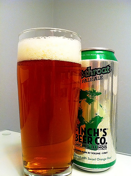 Finch's Beer Company Cut Throat Pale Ale photo