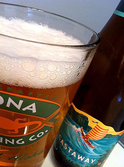 Kona Brewing Castaway IPA photo