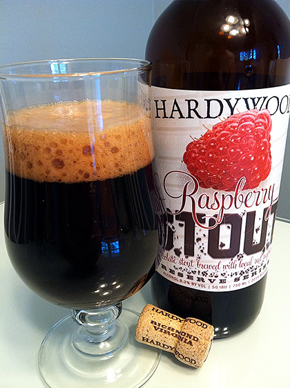 Hardywood Park Raspberry Stout photo