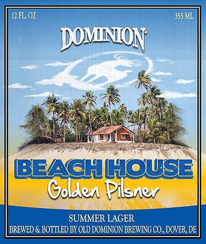Dominion Brewing Announces Beach House Pilsner photo