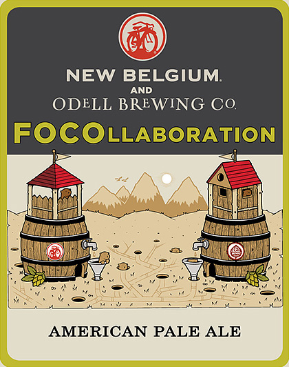 New Belgium Brewing and Odell Brewing  Pair up for FOCOllaboration Ale photo