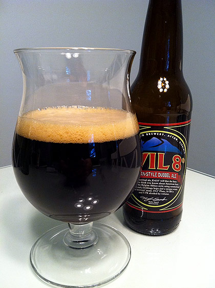 Blue Mountain Evil 8° Belgian Dubbel photo