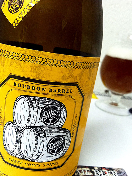 Lickinghole Creek Bourbon Barrel Three Chopt Tripel photo