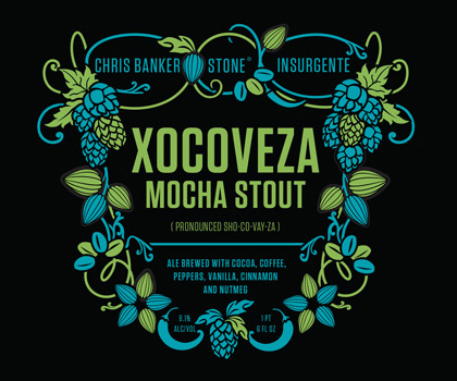 Stone Brewing Co. Releases Latest Collaboration: Chris Banker / Stone / Insurgente Xocoveza Mocha Stout photo