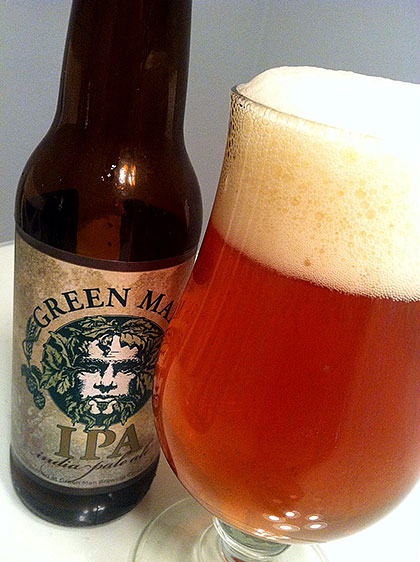 Green Man Brewing IPA photo