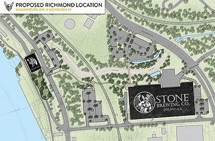 Stone Brewing location in Richmond, VA