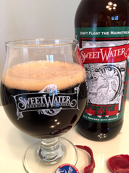 Sweetwater Brewing 2014 Festive Ale photo