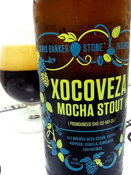 Stone Brewing Xocoveza Mocha Stout photo