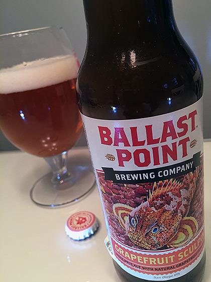 Ballast Point Grapefruit Sculpin IPA photo