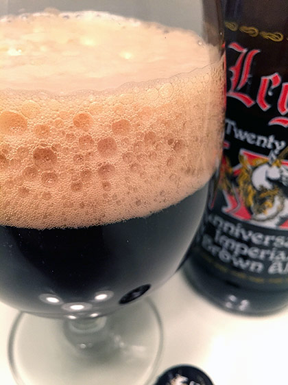 Legend Brewing XX Anniversary Imperial Brown Ale photo
