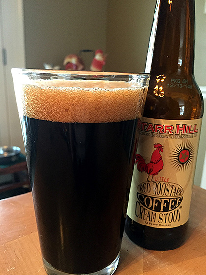 Starr Hill Roostarr Coffee Cream Stout photo