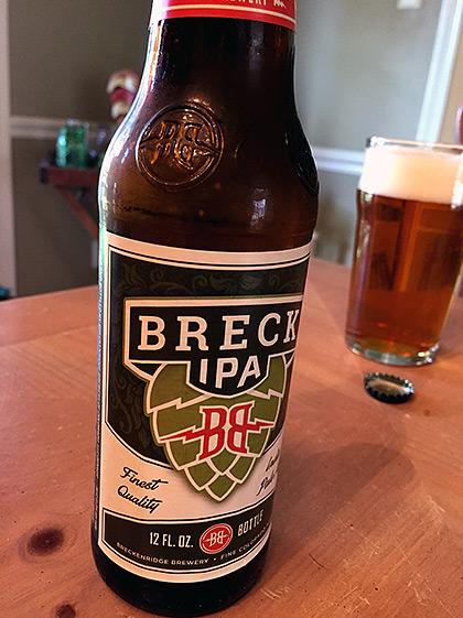 Breckenridge Brewery Breck IPA