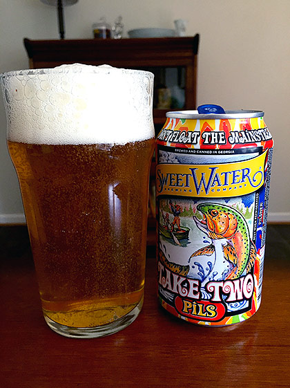 Sweetwater Brewing Take Two Pils photo