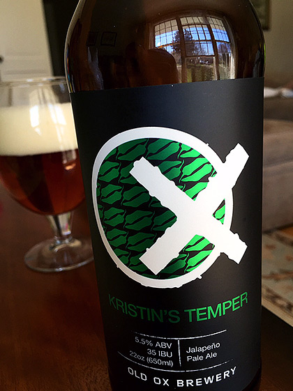 Old Ox Brewing Kristen's Temper