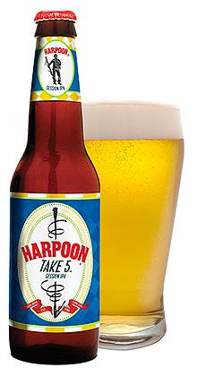 Harpoon Brewery Take 5 Session IPA artwork