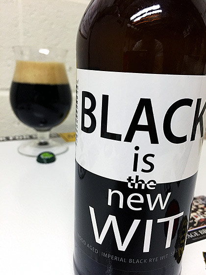 Terrapin And New Belgium Black is the New Wit