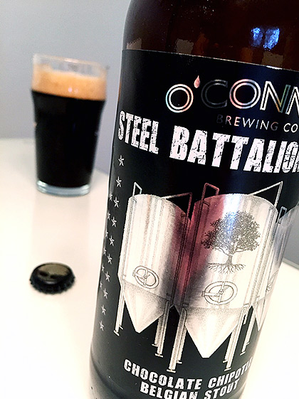 O'Connor Brewing Chocolate Chipotle Belgian Stout photo