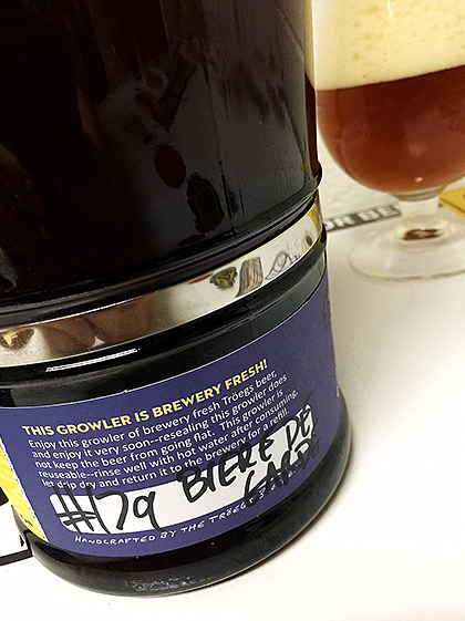 Troegs Scratch Beer 179 – 2015 Biere de Grouch photo
