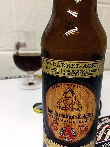 Avery Brewing Insula Multos Collibus