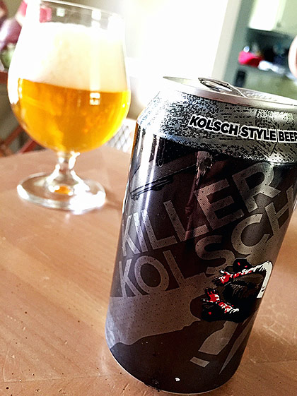 Champion Brewing Killer Kolsch