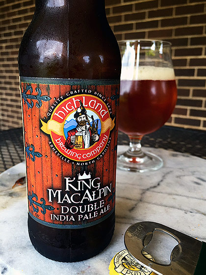 Highland Brewing King MacAlpin Double IPA