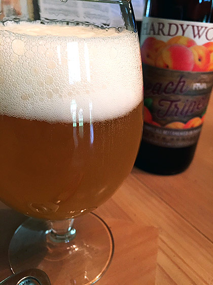 Hardywood Peach Tripel photo