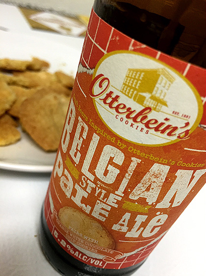 Flying Dog Belgian Style Pale Ale and Cookie Pairing