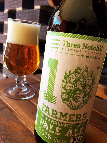 Three Notch'd 10* Farmers Pale Ale