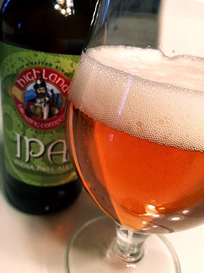 Highland Brewing IPA photo