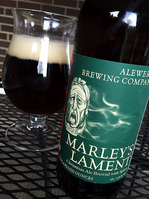 AleWerks Brewing Marley's Lament
