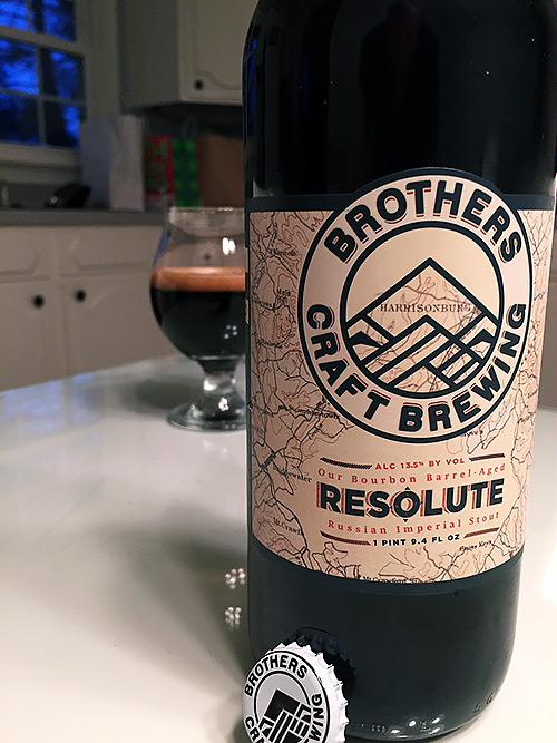 Brothers Brewing Resolute Russian Imperial Stout photo