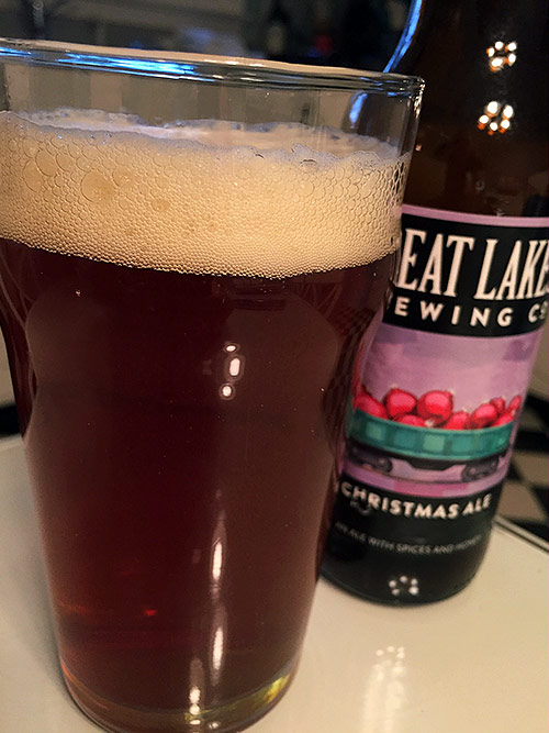 ... Great Lakes Brewing Christmas Ale photo