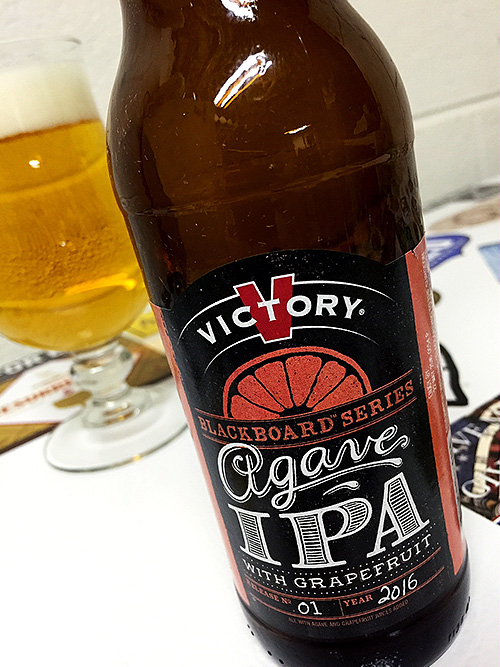 Victory Brewing Agave IPA with Grapefruit