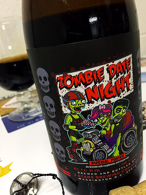 3 Stars Brewing Zombie Date Night