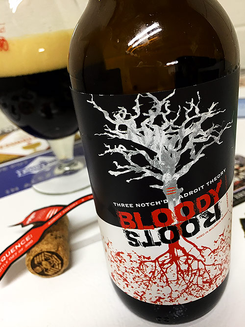 Adroit Theory & Three Notch'd Bloody Roots