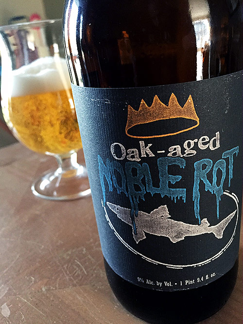 Dogfish Head Oak Aged Noble Rot photo