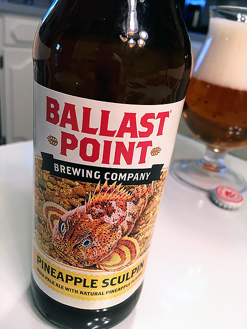 Ballast Point Pineapple Sculpin IPA