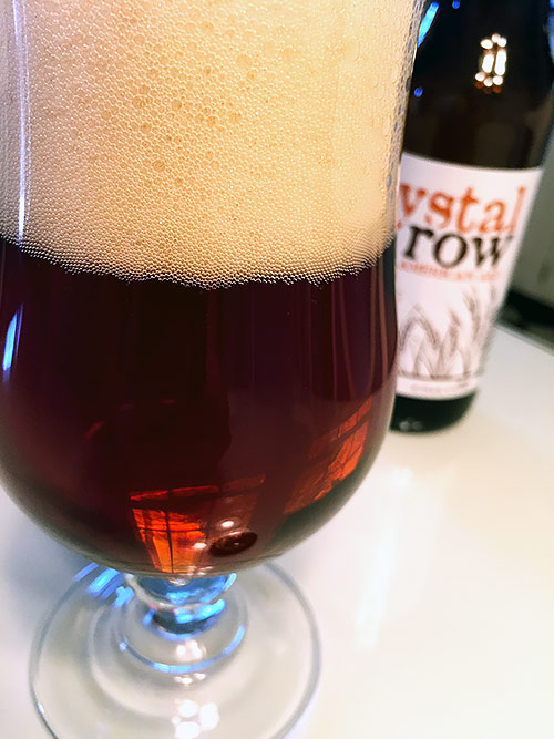 Evolution Craft Brewing Crystal Row American Ale photo