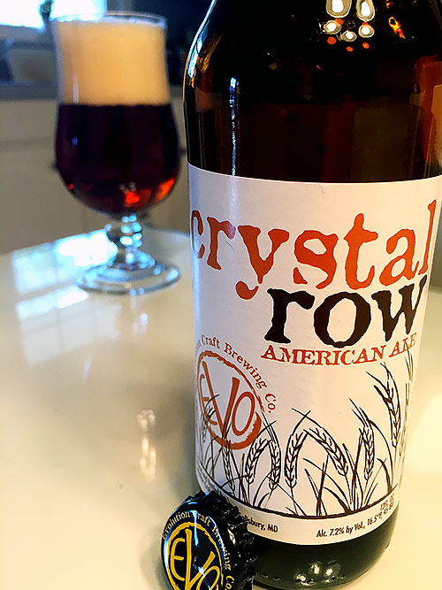 Evolution Craft Brewing Crystal Row American Ale