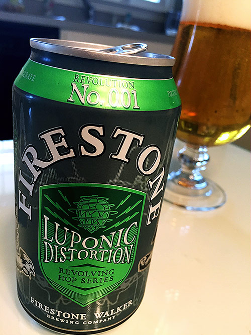Firestone Walker Luponic Distortion Revolution No. 001