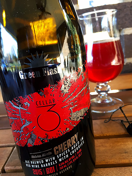 Green Flash Cellar 3 Natura Morta Cherry