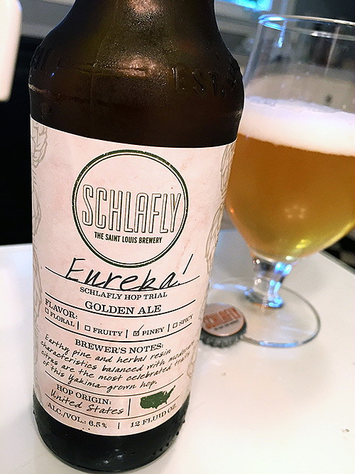 Schlafly Hop Trial: Eureka! photo