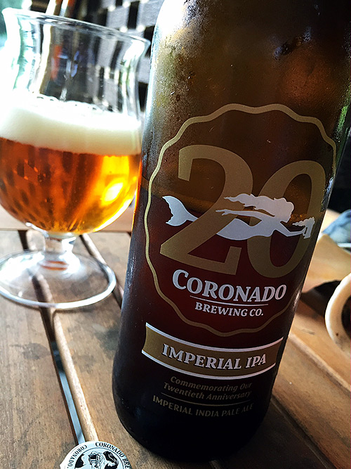 Coronado Brewing 20th Anniversary Imperial IPA