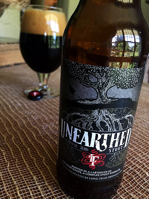 Long Trail Unearthed Stout