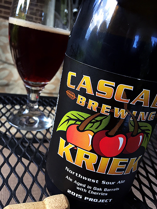 Cascade Brewing Kriek