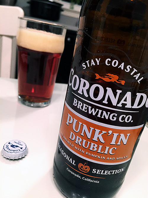 Coronado Brewing Punk'in Drublic
