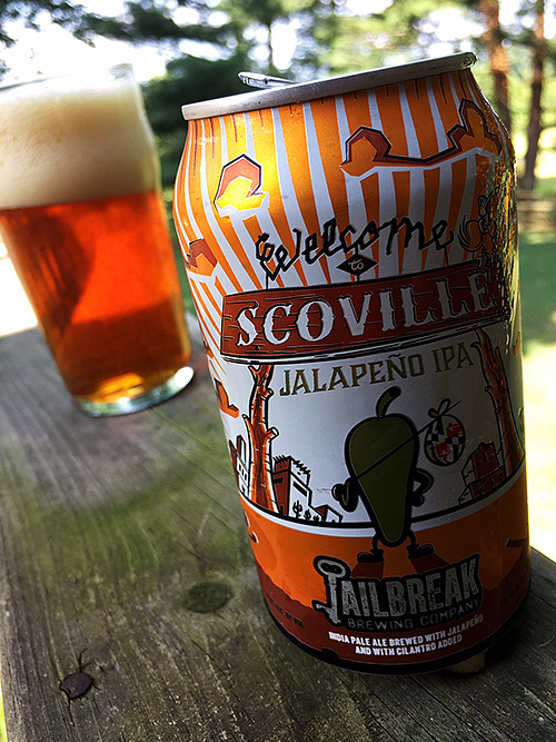 Jailbreak Brewing Welcome to Scoville