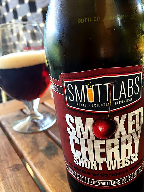 Smuttynose Smuttlabs Smoked Cherry