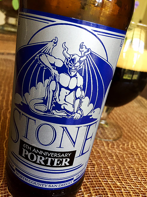 Stone Brewing 6th Anniversary Porter Encore Releaase