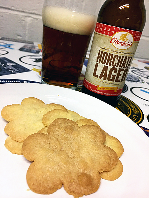 Flying Dog Horchata Lager and Sugar Cookie Pairing